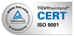 TÜV ISO 9001 Zertifikat